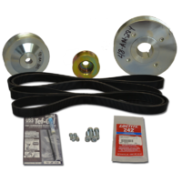 Balmar Pulley Kit, Volvo 2001, 2002, 2003, 2003T