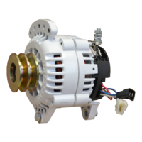 Balmar Alternator, 60 Series, 70a, 24v, SaddleMT, 3.15 inch, DualPul, IsoGrd