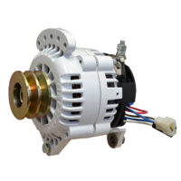 Balmar Alternator, 60 Series, 70a, 24v, SaddleMT, 4 inch, DualPul, IsoGrd