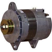 Balmar Alternator, 97EHD Series, 185a, 12v, SaddleMT, 4 inch, DualPul, CaseGrd