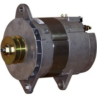 Balmar Alternator, 97EHD Series, 85a, 24v, SaddleMT, 4 inch, DualPul, IsoGrd