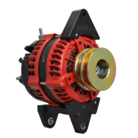 Balmar Alternator, AT Series, 200a, 12v, DualFT, 3.15 inch, DualPul, IsoGrd