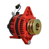 Balmar Alternator, AT Series, 165a, 12v, SingleFT, 1-2 inch, DualPul, IsoGrd