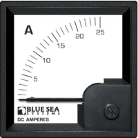 Blue Sea DIN AMtr DC 0–25A w/internal Shunt