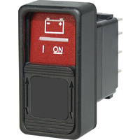 Blue Sea Switch Contura SPDT ON / ON Red, Guard