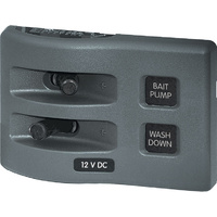 Blue Sea Panel WD Switch Only 2pos Gray