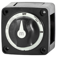 Blue Sea Switch Battery M ON/OFF w/Knob Blk