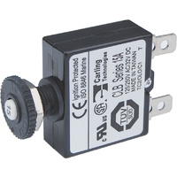 Blue Sea Circuit Breaker Push Button QC 15A