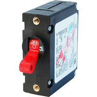 Blue Sea Circuit Breaker AA1Toggle 5A Red