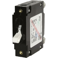 Blue Sea Circuit Breaker CA1Toggle 50A Wht