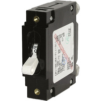 Blue Sea Circuit Breaker CA1Toggle 100A Wht