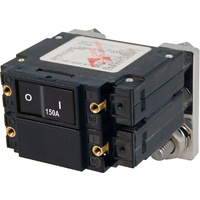 Blue Sea Circuit Breaker LC2 FLAT Rockr 150A