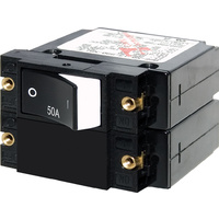 Blue Sea Circuit Breaker A2RSD Rocker50A