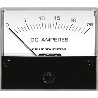 Blue Sea Ammeter DC 0–25A w/internal Shunt