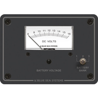 Blue Sea Panel Meter Analog 8-16VDC 3 Bank