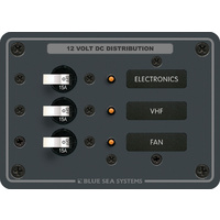 Blue Sea Panel DC 3pos