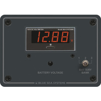 Blue Sea Panel Meter Digital 7–60VDC 3 Bank