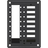 Blue Sea Panel DC 8pos C-Series CB