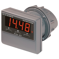 Blue Sea Meter Digital DC Voltage w/Alarm