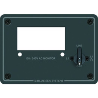 Blue Sea Panel Single Meter 240VAC Selector