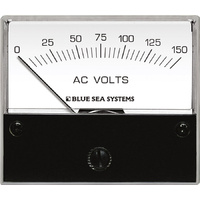 Blue Sea Voltmeter AC 0–150V