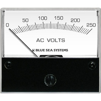 Blue Sea Voltmeter AC 0–250V