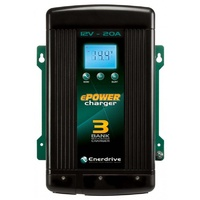 ePOWER 20amp/12volt Smart Battery Charger - Enerdrive EN31220