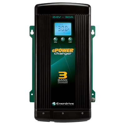 ePOWER 30amp / 24v Smart Charger - Enerdrine EN32430