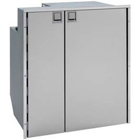 Isotherm Cruise 200 Classic Stainless Refrigerator with Freezer - CR200IN