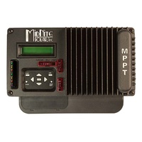 Kid 150 MPPT Solar Charge Controller (black)