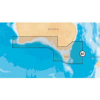 Navionics Platinum+ MSD Chart XL3 61+ (Australia South)