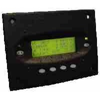 Outback MATE 2 remote panel - black square housing with RS232 serial port