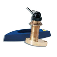 Raymarine Bronze B744VL D/S/T Through Hull Retractable Transducer (includes E66023 Fairing Block)