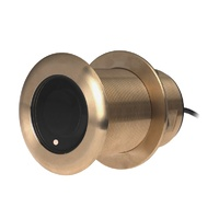 Raymarine B75M Bronze Low Profile D/T Through Hull Transducer 20° Angle (600W)