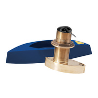Raymarine B275LH-W 1000W D/T Through Hull Low-High Wide Beam Bronze Transducer with Fairing Block