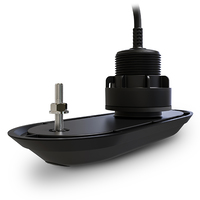 Raymarine RV-300 RealVision 3D Plastic Through Hull Transducer 0 deg, Direct connect to AXIOM (8m cable)