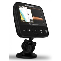 Raymarine Dragonfly 5Pro fishfinder 5in screen with CHIRP Downvision and Sonar including CPT-DVS transducer, Wi-Fi & GPS Chart Plotter