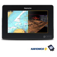 Raymarine AXIOM 7 RV, Multi-function 7in Display with integrated RealVision 3D, 600W Sonar with Australia/NZ Navionics+ Chart