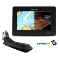 "AXIOM 7 RV, Multi-function 7"" Display with integrated RealVision 3D, 600W Sonar with RV-100 transducer and Australia/NZ Navionics+ Chart"