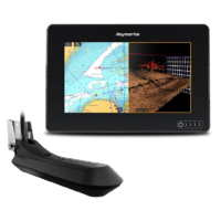 Raymarine AXIOM 7 RV, Multi-function 7in Display with integrated RealVision 3D, 600W Sonar with RV-100 transducer