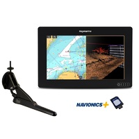 "AXIOM 9 RV, Multi-function 9"" Display with integrated RealVision 3D, 600W Sonar with CPT-100DVS transducer and Australia/NZ Navionics+ Chart"