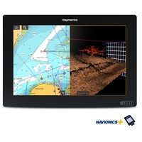 "AXIOM 12 RV, Multi-function 12"" Display with integrated RealVision 3D, 600W Sonar and Australia/NZ Navionics+ Chart"