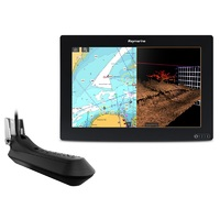 "AXIOM 12 RV, Multi-function 12"" Display with integrated RealVision 3D, 600W Sonar with RV-100 transducer"