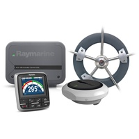 Raymarine Evolution Wheel Pilot with p70s control head, ACU-100, EV1 Sensor Core, EV1 Cabling kit & Wheel Drive