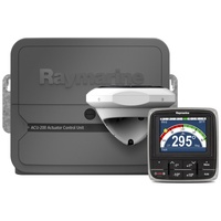 Raymarine Evolution Autopilot with p70s control head & ACU-200, EV1 Sensor Core, EV1 Cabling kit (suitable for Type 1 drives)