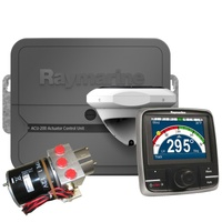 Raymarine Evolution Autopilot with p70Rs control head, ACU-200, EV1 Sensor Core, EV1 Cabling kit & Type 1 Hydraulic pump
