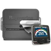 Raymarine Evolution Autopilot with p70Rs control head & ACU-400, EV1 Sensor Core, EV1 Cabling kit (suitable for Type 2 & 3 drives)