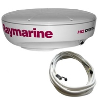 Raymarine 4kW 24in (608mm) HD Color Radome + 10m Raynet Cable