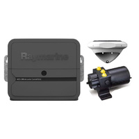 Raymarine Evolution Hydraulic Pilot, ACU-100, EV1 Sensor Core, EV1 Cabling kit & 0.5l hydraulic pump. Note MFD or autopilot control head is required
