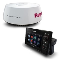 "Raymarine eS75 7in MFD with Wi-Fi, AUS Navionics+ Chart, Quantum Q24C 18"" Radar with 10m Power & Data Cable"